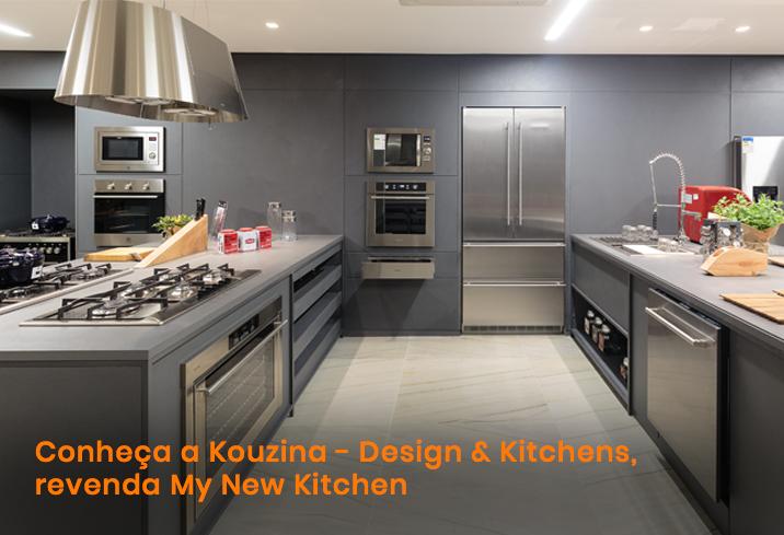 Conheca A Kouzina Design Kitchens Mnk My New Kitchen